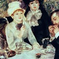 The End Of Luncheon by Pierre Auguste Renoir