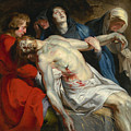 The Entombment by Peter Paul Rubens
