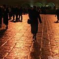 The Entrance To The Western Wall At Night by Idan Badishi