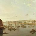 The European Factories - Canton by William Daniell