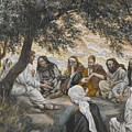 The Exhortation To The Apostles by Tissot