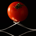 The Exposed Tomato by Catalin Tibuleac