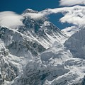 The Extreme Terrain Of Mount Everest by Michael Klesius