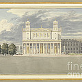 The Fa?ade And Suroundings Of A Cathedral For Berlin by Karl Friedrich Schinkel