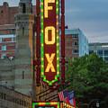 The Fabulous Fox Sign Fox Theatre Atlanta Georgia Art by Reid Callaway
