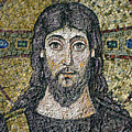The Face Of Christ by Byzantine School