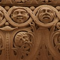 The Faces Of Old City Hall - 1  by Hany J