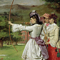 The Fair Toxophilites by William Powell Frith