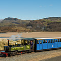 The Fairbourne Miniature Steam Railway, Wales Uk by Keith Morris