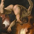 The Fall Of Ixion by Cornelis Cornelisz van Haarlem