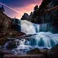The Falls At Flatrock by Shawn Hudson