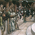 The False Witness by Tissot