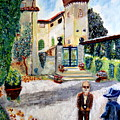 The Farm In Montelopio -pisa by Daniele Fedi