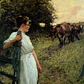 The Farmer's Daughter by Henry Herbert La Thangue
