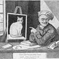 The Favourite Cat And De La Tour The Painter by Unknown