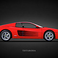 The Ferrari Testarossa by Mark Rogan