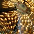 The Ferris Wheel At Night by Jan Cline-Zimmerman