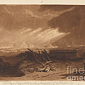The Fifth Plague Of Egypt by Joseph Mallord William Turner And Charles Turner