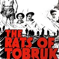 The Fighting Rats Of Tobruk  Theatrical Poster 1944 Color Added 2016 by David Lee Guss