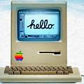 Hello Apple by Tony Rubino