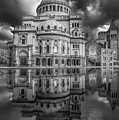 The First Church Of Christ Scientist Bw by Susan Candelario