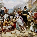 The First Thanksgiving by PaintingAssociates