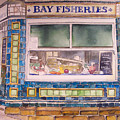 The Fish And Chip Shop by Victoria Heryet
