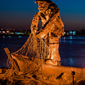 The Fisherman After Nightfall by Greg Nyquist