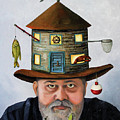 The Fisherman by Leah Saulnier The Painting Maniac