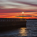 The Fishing Pier by Lisa Walsh