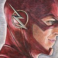 The Flash / Grant Gustin by Christine Jepsen