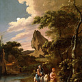 The Flight Into Egypt by Adam Colonia