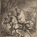 The Flight Into Egypt: Small by Rembrandt Van Rijn