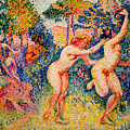 The Flight Of The Nymphs by Henri-Edmond Cross