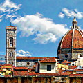 The Florence Cathedral by Anthony Dezenzio