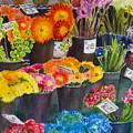 The Flower Market by Karen Fleschler