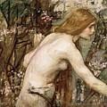 The Flower Picker Study John William Waterhouse by Eloisa Mannion