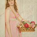 The Flower Seller by George Lawrence Bulleid