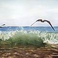 The Flying Instant Of Surf by Sergii Grygoriev