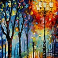 The Fog Of Dreams by Leonid Afremov