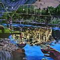 The Footbridge by Tim  Joyner