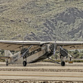 The Ford Trimotor by Sandra Selle Rodriguez