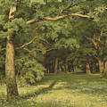 The Forest Clearing by Ivan Shishkin