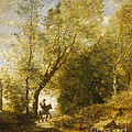 The Forest Of Coubron by Jean-baptiste-camille Corot