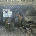 The Forge by Alfred Sisley