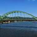 The Fort Henry Bridge - Wheeling West Virginia by Mountain Dreams