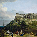 The Fortress Of Konigstein by Bernardo Bellotto