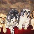 The Four Amigos by Janice Pariza