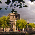 The Four Courts In Reconstruction by Alex Art and Photo