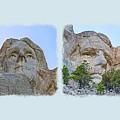 The Four Presidents Mug Shot by John M Bailey